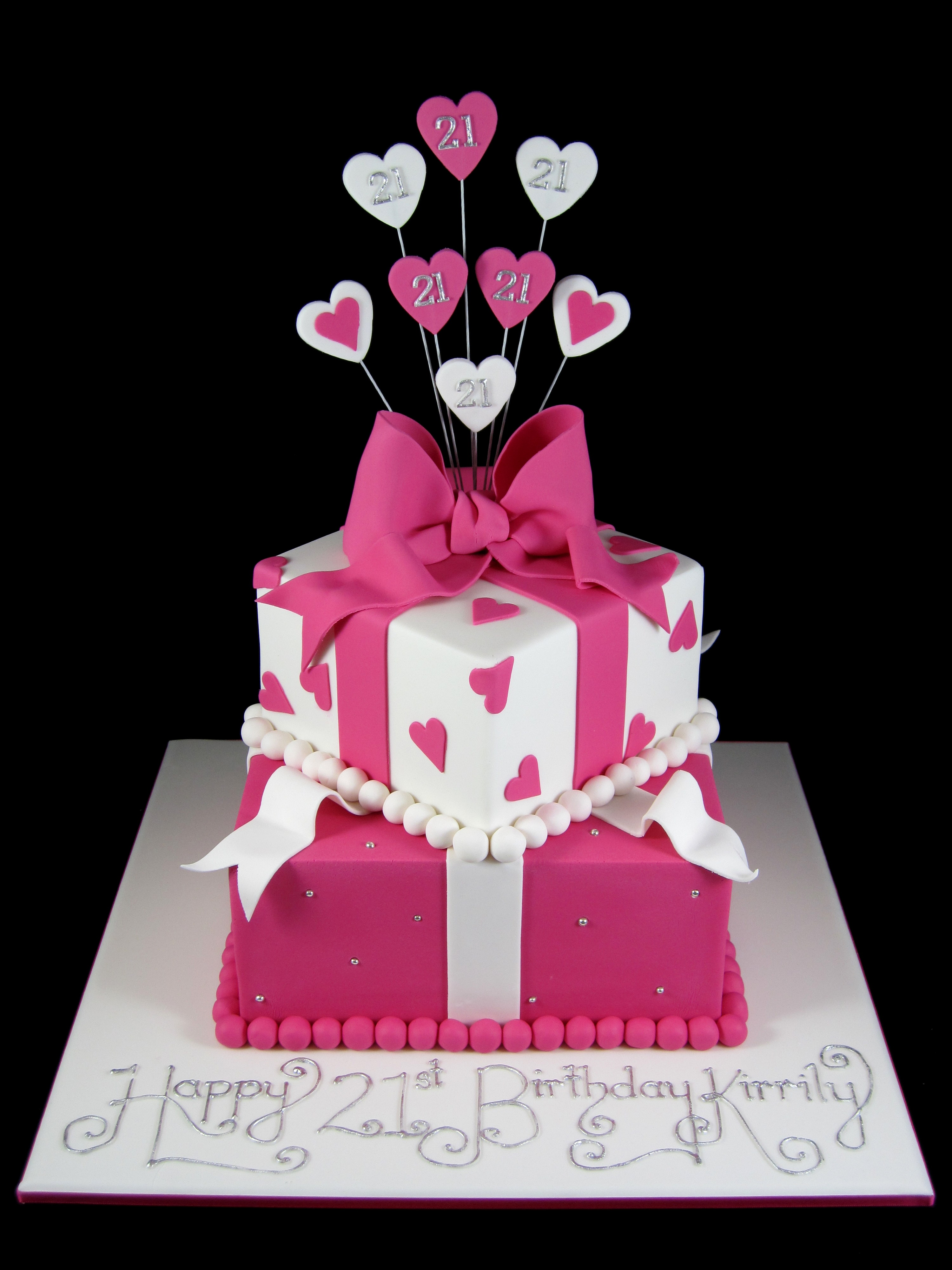 Outstanding 21St Birthday Cake Idea Inspired By Michelle Personalised Birthday Cards Paralily Jamesorg