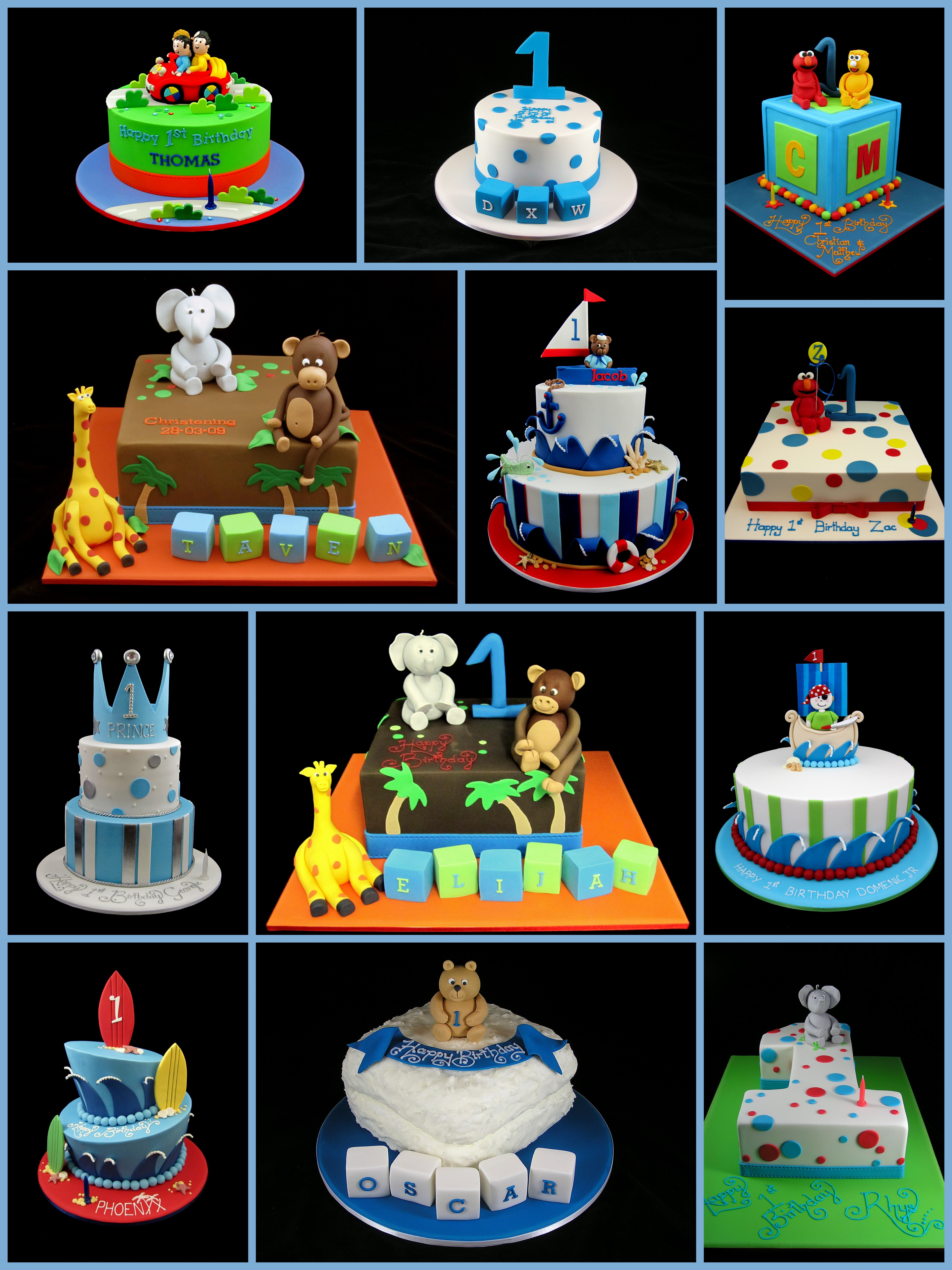 Phenomenal 1St Birthday Cake For Boys Inspired By Michelle Funny Birthday Cards Online Alyptdamsfinfo