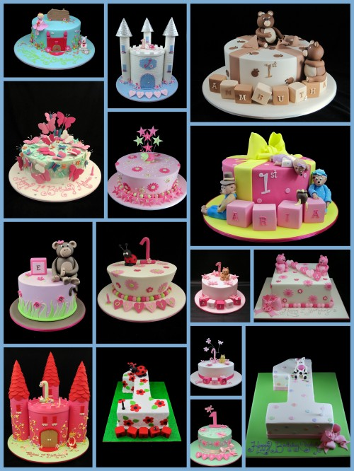 1st birthday cake ideas for girls