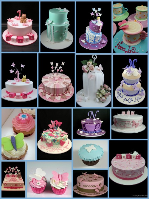 butterfly cake ideas image collage