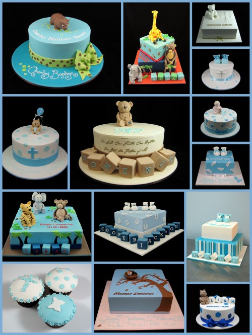 christening and baptism cake ideas for boys