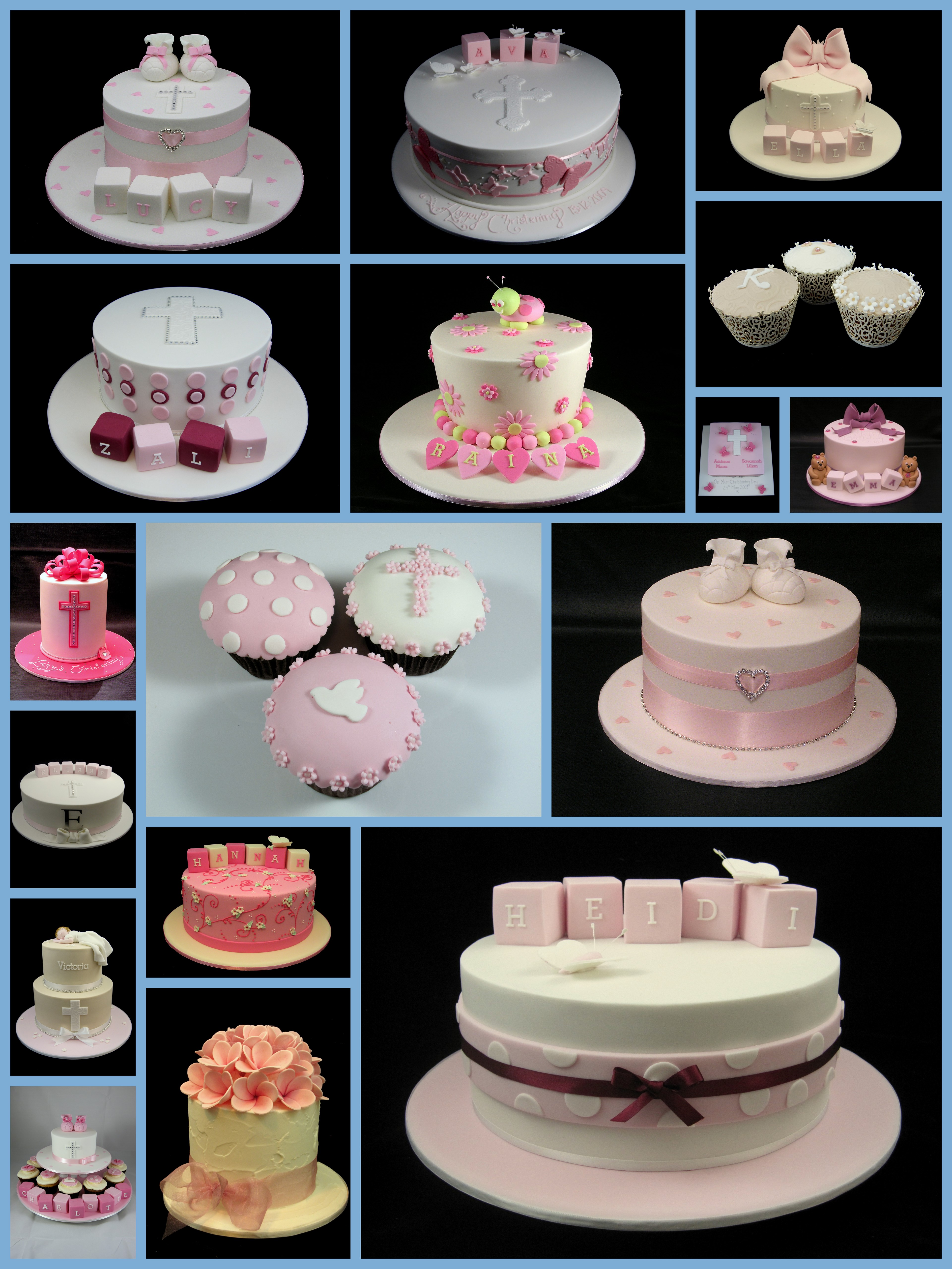Cupcake Christening Design : 301 Moved Permanently