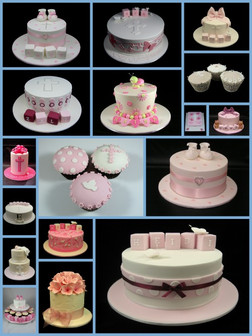 christening and baptism cake ideas for girls
