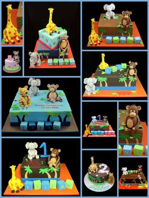 jungle cake decorating ideas