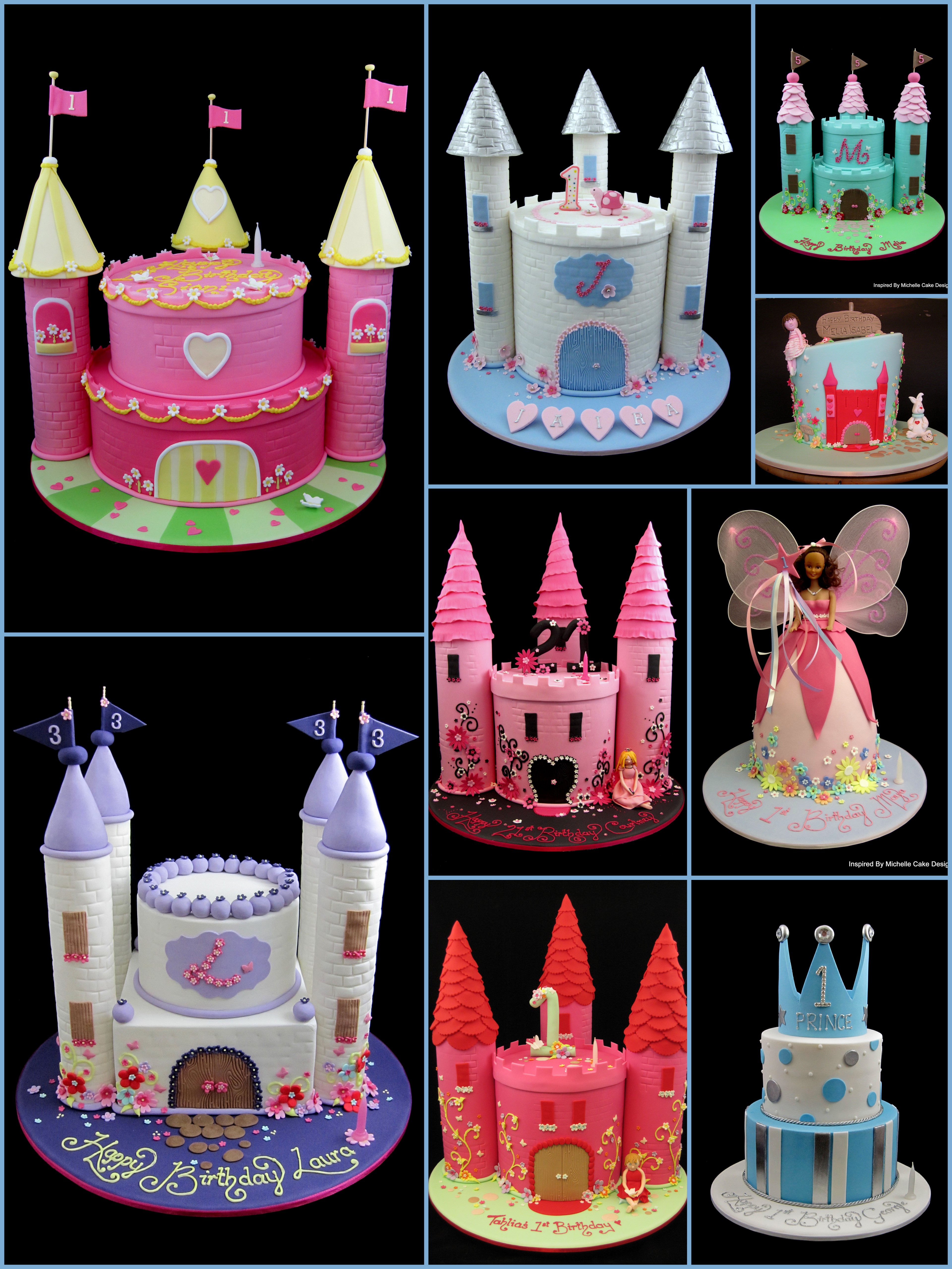 princess castle cake ideas inspired by michelle cake designs  sc 1 st  Inspired By Michelle - WordPress.com & princess cake | Inspired By Michelle