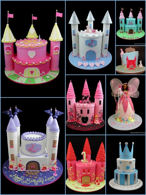 princess castle cake ideas inspired by michelle cake designs