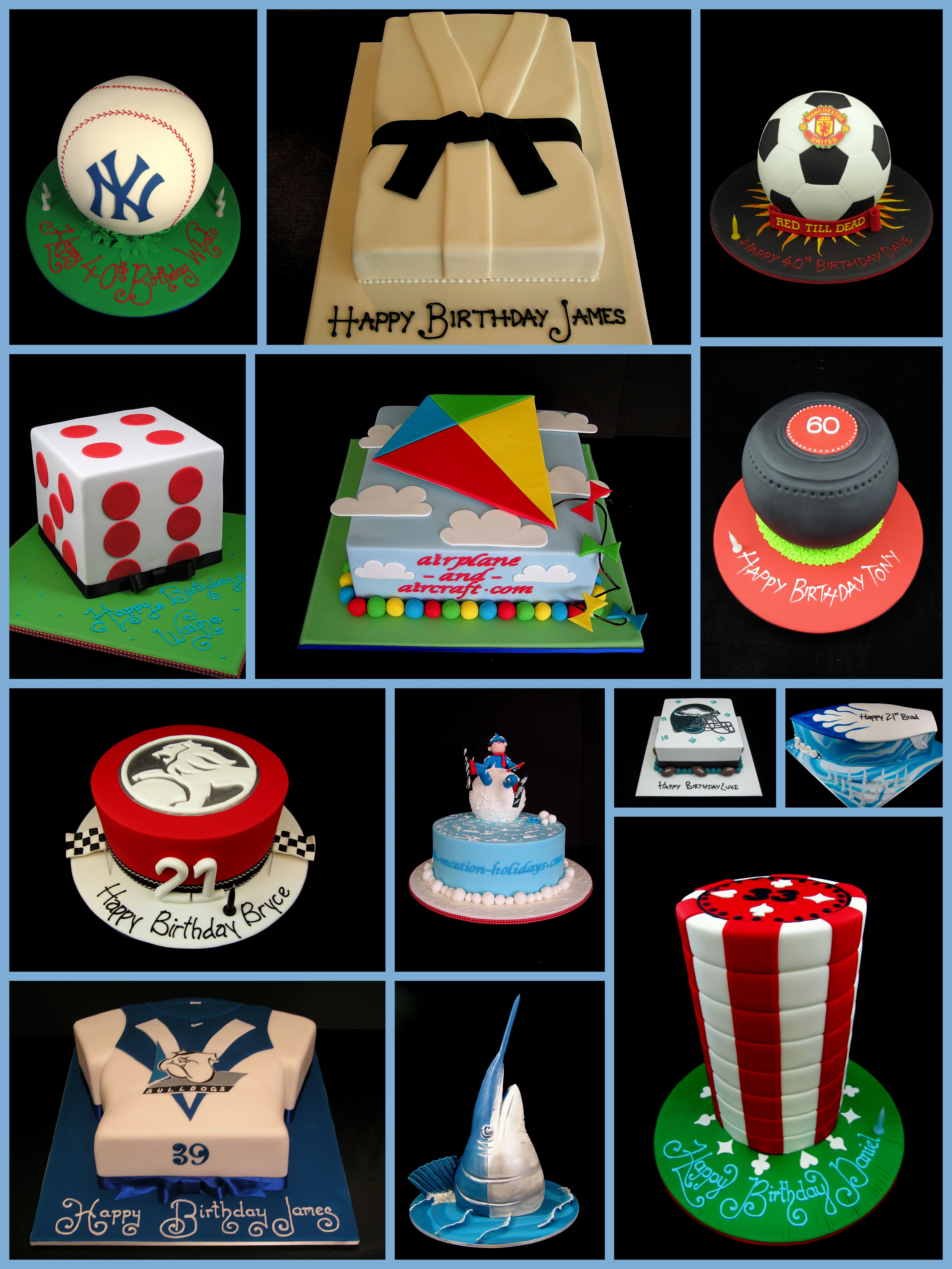 Novelty Cake Design Ideas : Sports novelty cakes usually for men! Inspired By Michelle