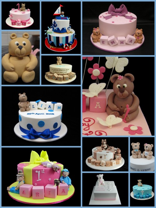 teddy bear cake decorating ideas