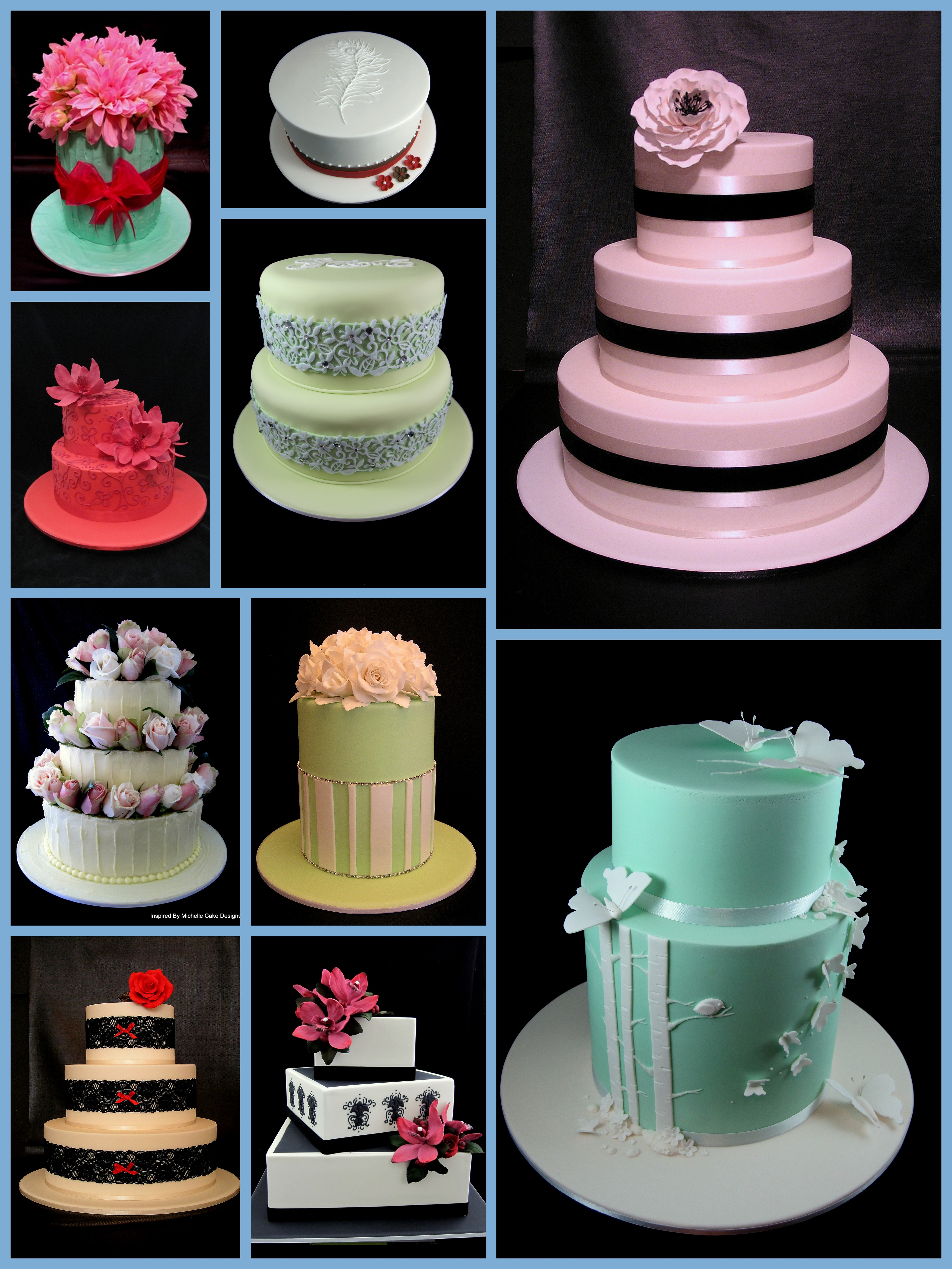 Wedding Cake Design Patterns : wedding cakes Inspired By Michelle