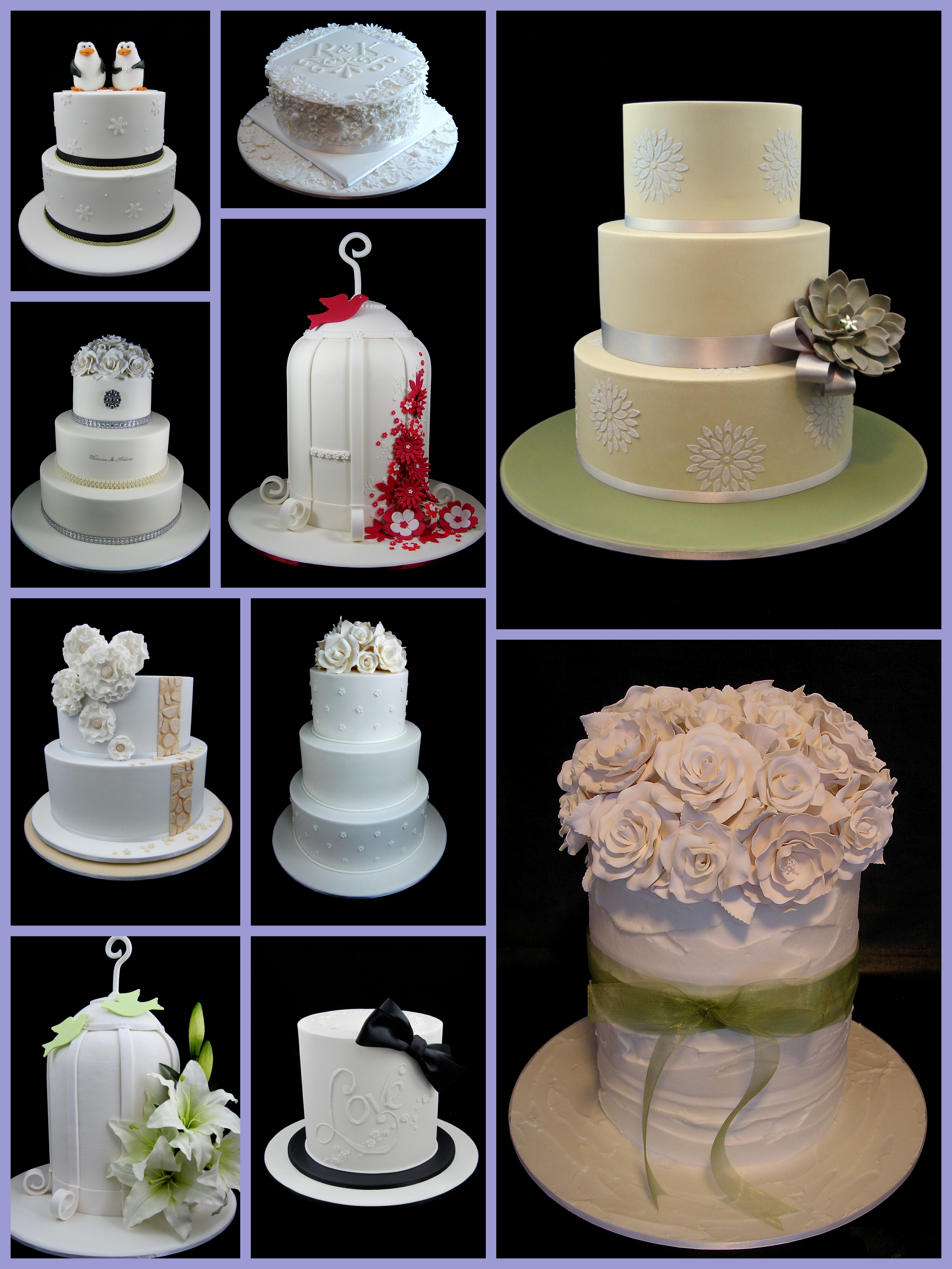 wedding cakes inspired by michelle. Black Bedroom Furniture Sets. Home Design Ideas