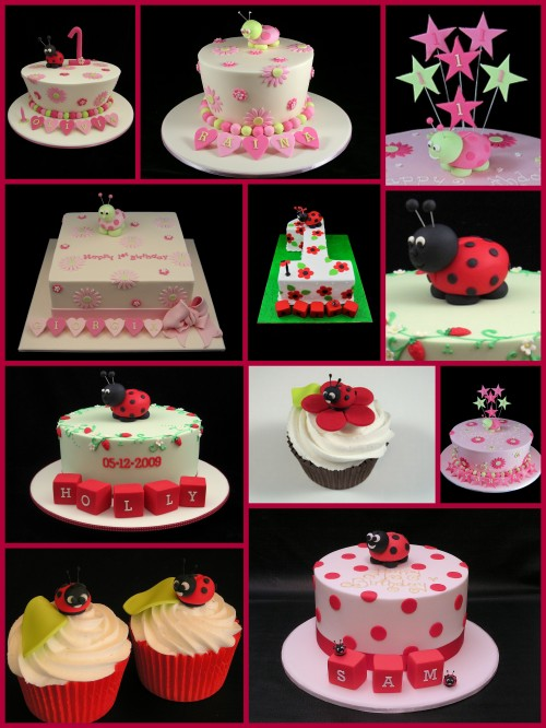 ladybug cake decorating ideas inspired by Michelle Cake Designs
