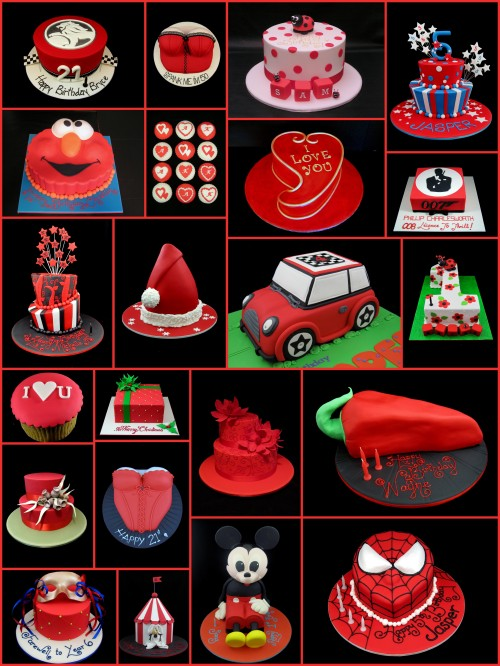 red fondant cake decorating ideas inspired by michelle cake designs