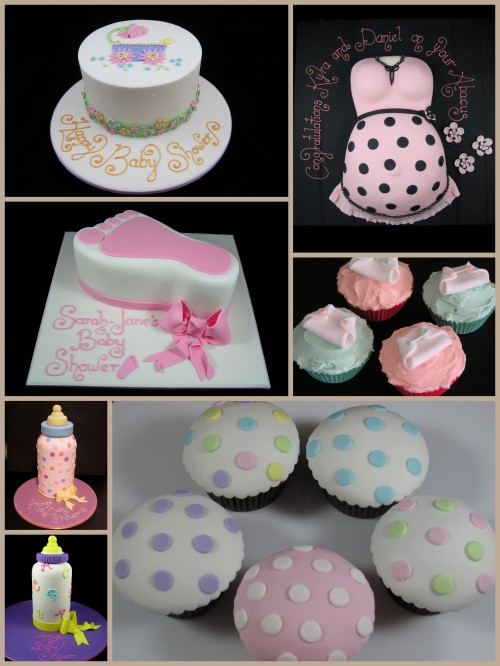 Baby Shower Cupcake Cakes Designs : gallery of cake designs Inspired By Michelle