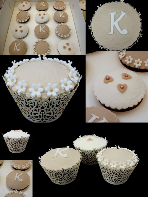 christening cupcakes ideas Inspired by Michelle Cake Designs