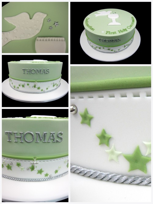 confirmation first holy communion cake idea Inspired by Michelle Cake Designs