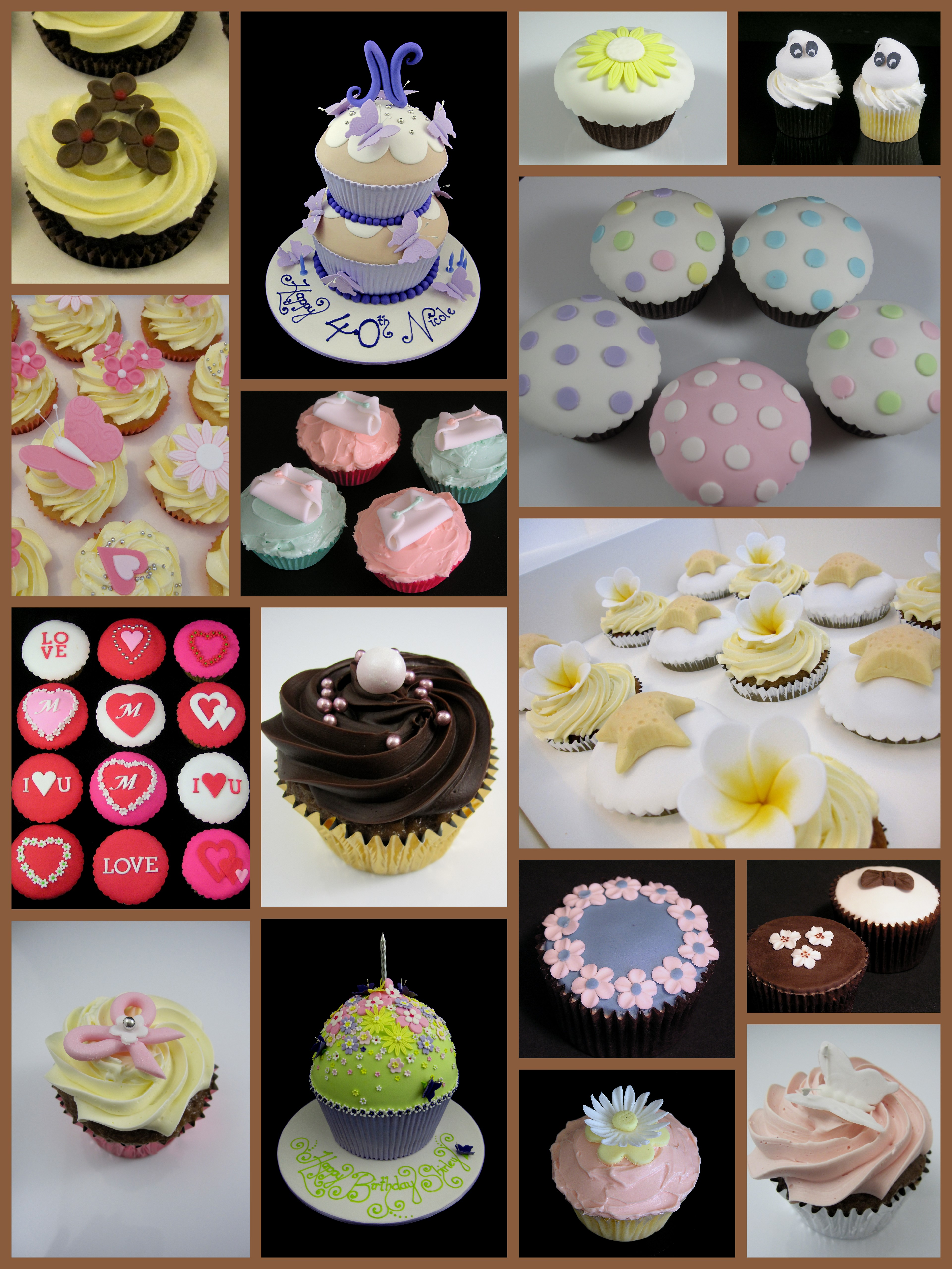 Glorious treats cupcake decorating easy cupcake decorating Cupcake decorating ideas