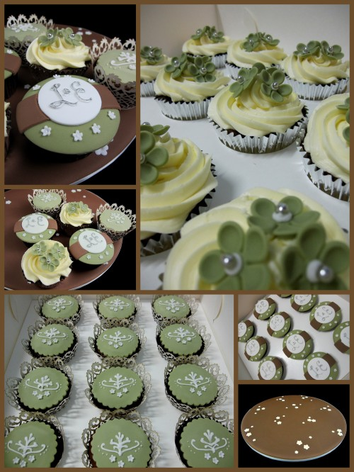 engagement wedding cupcake decorating ideas inspired by michelle cake designs