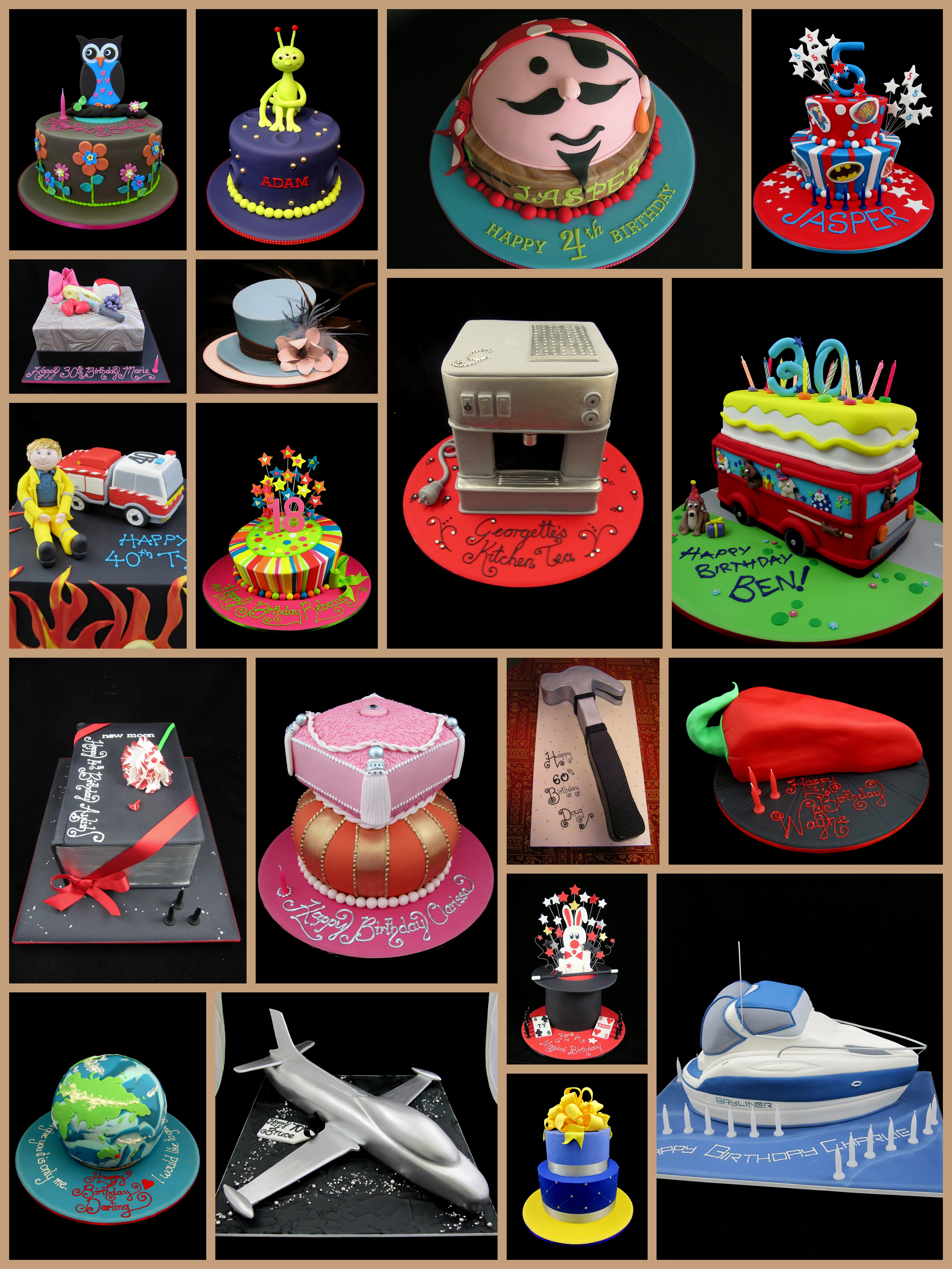 Fun Cake Designs Novelty Cakes Inspired By Michelle